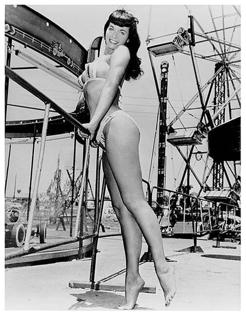 Betty Page Photos: RIP Bunny Yeager & Bettie Page