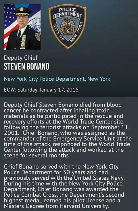 Two NYC Cops shot dead in revenge for Eric Garner and