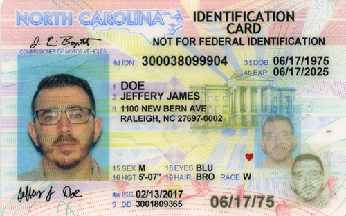 drivers license at 18 in nc